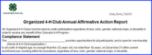 Affirmative Action Plan example