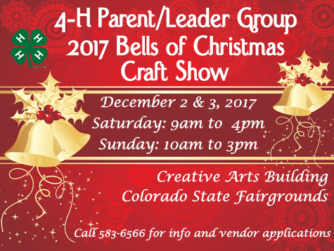 bells of christmas craft show pueblo county