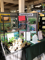 folding display of master gardener information