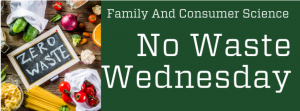 No Waste Wednesday Logo