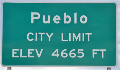 pueblo city limit elevation 4665 ft