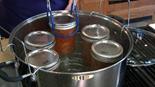 jars in waterbath canner