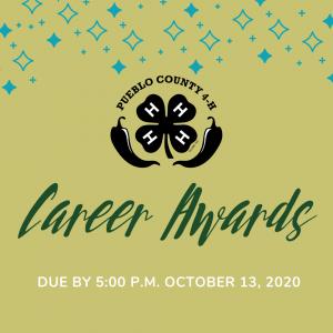 pueblo county 4-h career award