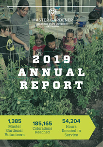 2019 annual report 1385 volunteers 185165 coloradoans reached 54204 hours donated